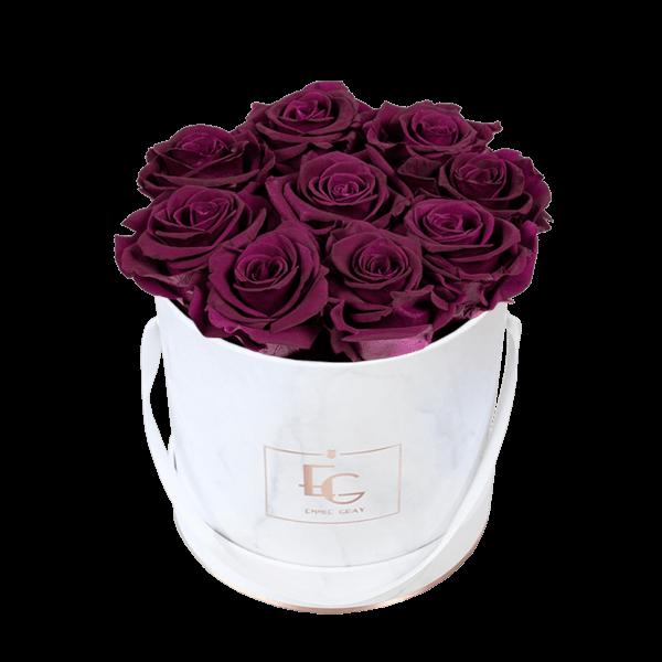Classic Infinity Rosebox | Velvet Plum | S