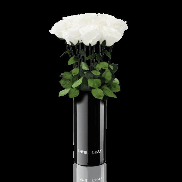 Classic Vase Set | Pure White | 10 ROSES