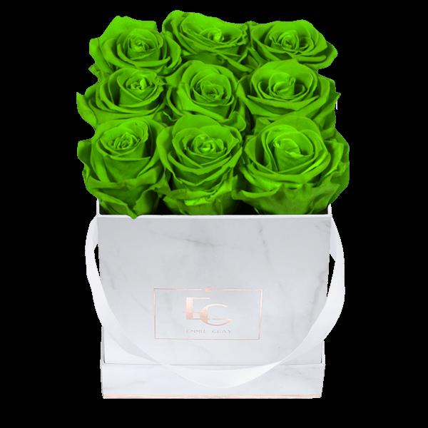 Classic Infinity Rosebox   Green Glow   S