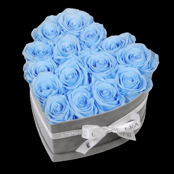 Classic Infinity Rosebox | Baby Blue | M