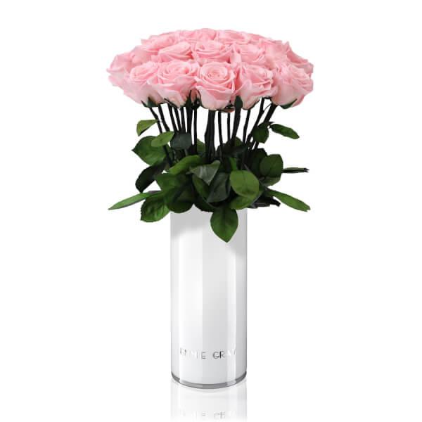Classic Vase Set | Bridal Pink | 15 ROSES
