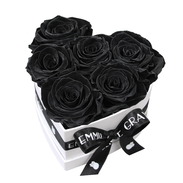 Classic Infinity Rosebox   Black Beauty   S