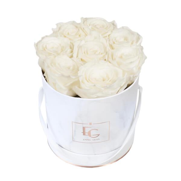 Classic Infinity Rosebox | Pure White | S
