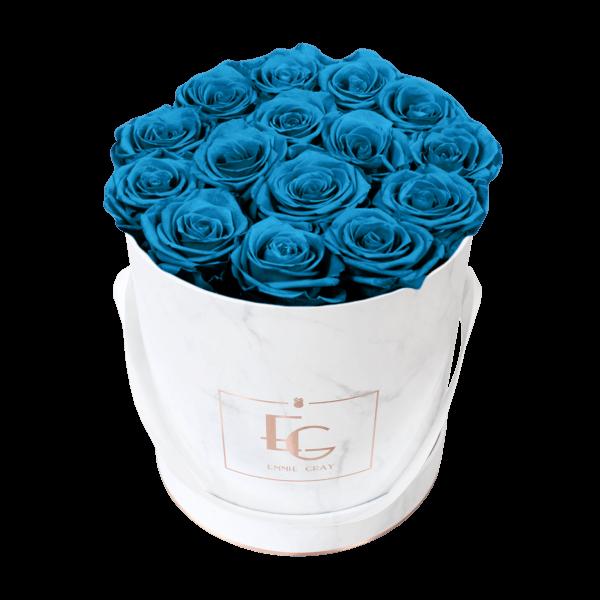 Classic Infinity Rosebox | Aquamarine | M
