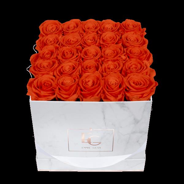 Classic Infinity Rosebox | Orange Flame | M