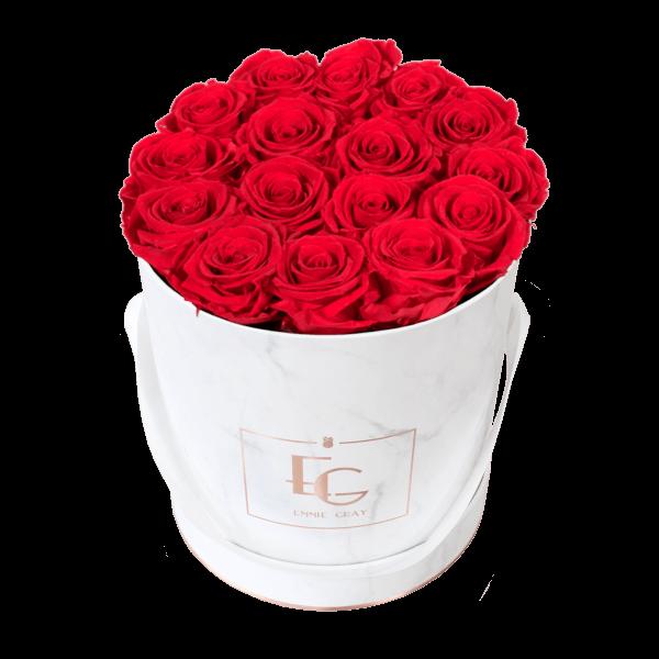 Classic Infinity Rosebox | Vibrant Red | M