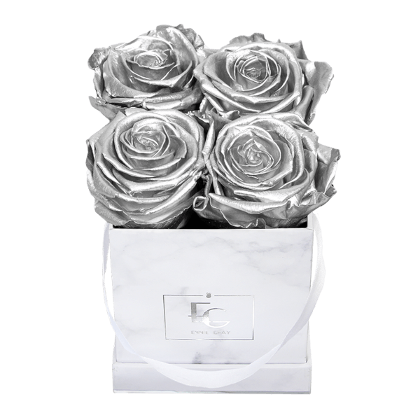 Classic Infinity Rosebox | Silver | XS
