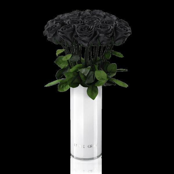 Classic Vase Set | Black Beauty | 15 ROSES