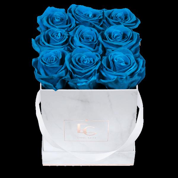 Classic Infinity Rosebox | Aquamarine | S