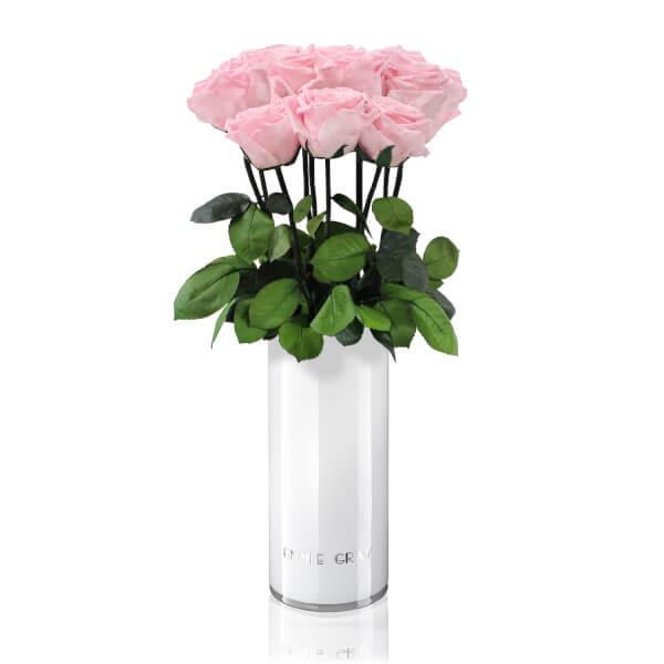 Classic Vase Set   Bridal Pink   10 ROSES