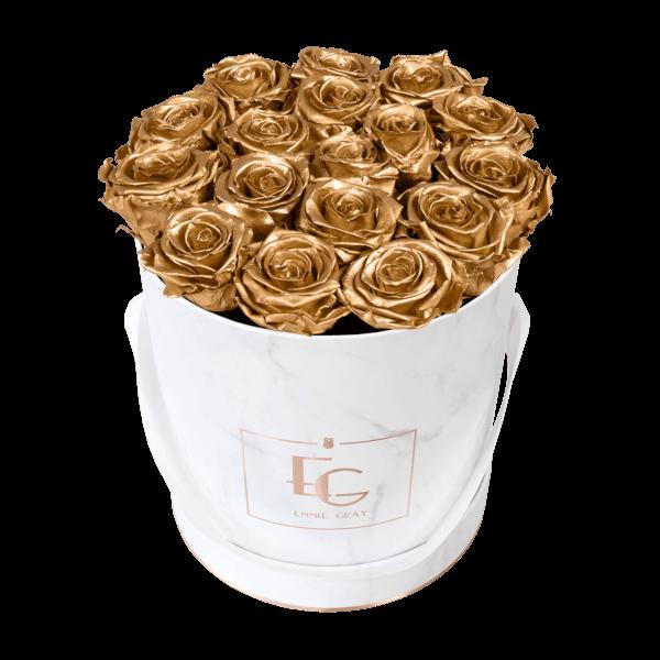 Classic Infinity Rosebox | Gold | M