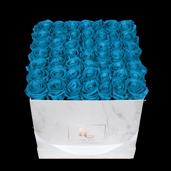 Classic Infinity Rosebox | Aquamarine | L
