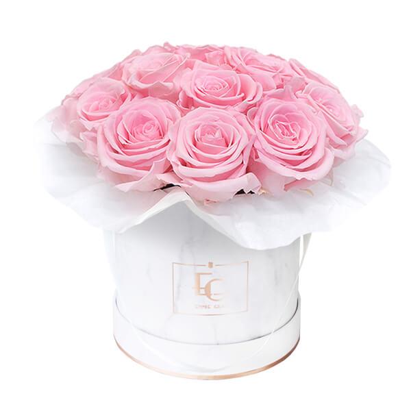 Splendid Infinity Rosebox   Bridal Pink   S