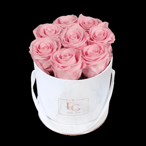 Classic Infinity Rosebox   Bridal Pink   S