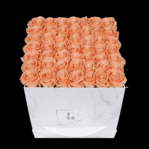 Classic Infinity Rosebox | Perfect Peach | L