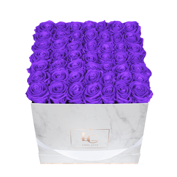 Classic Infinity Rosebox | Violet Vain | L