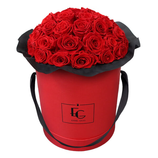 Splendid Infinity Rosebox | Vibrant Red | L