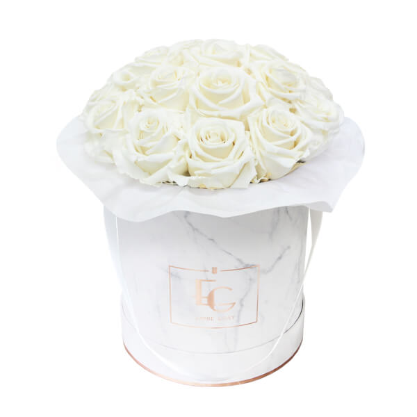Splendid Infinity Rosebox | Pure White | M