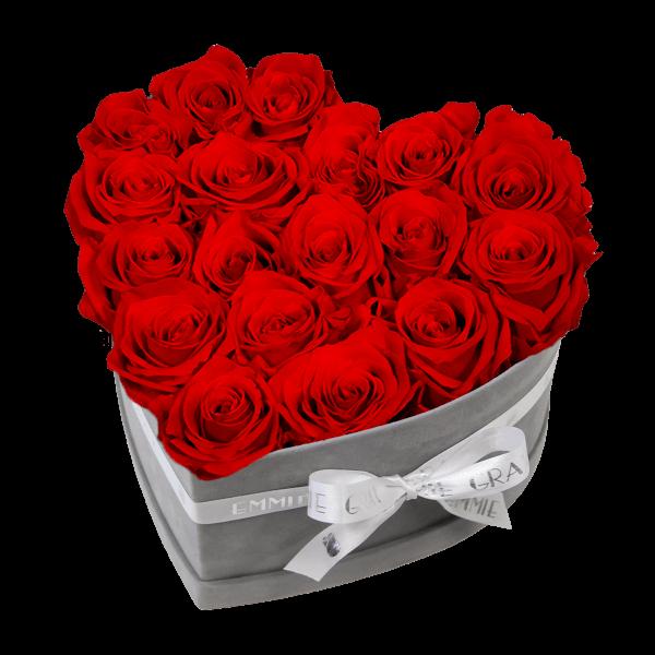 Classic Infinity Rosebox   Vibrant Red   M