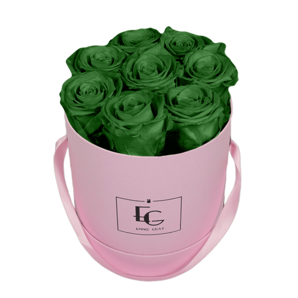CLASSIC INFINITY ROSEBOX | EMERALD GREEN | S