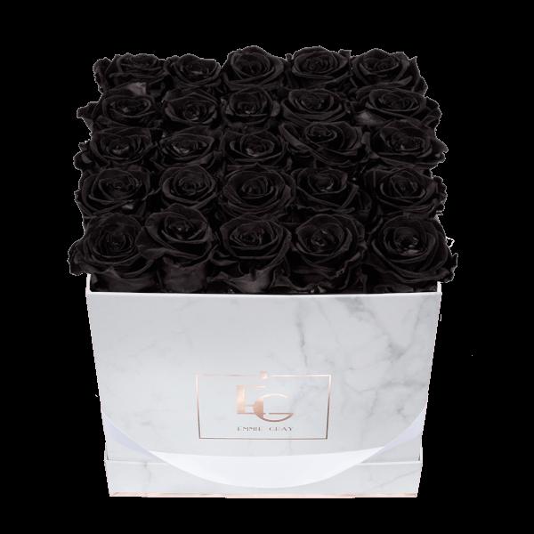 Classic Infinity Rosebox | Black Beauty | M