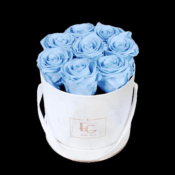 Classic Infinity Rosebox   Baby Blue   S