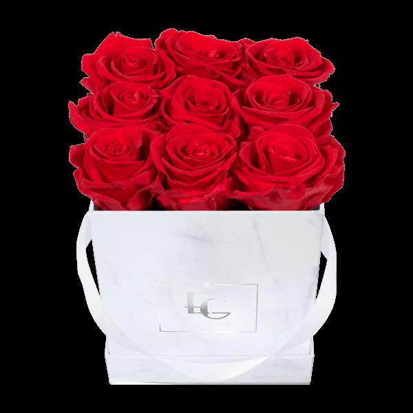Classic Infinity Rosebox | Vibrant Red | S