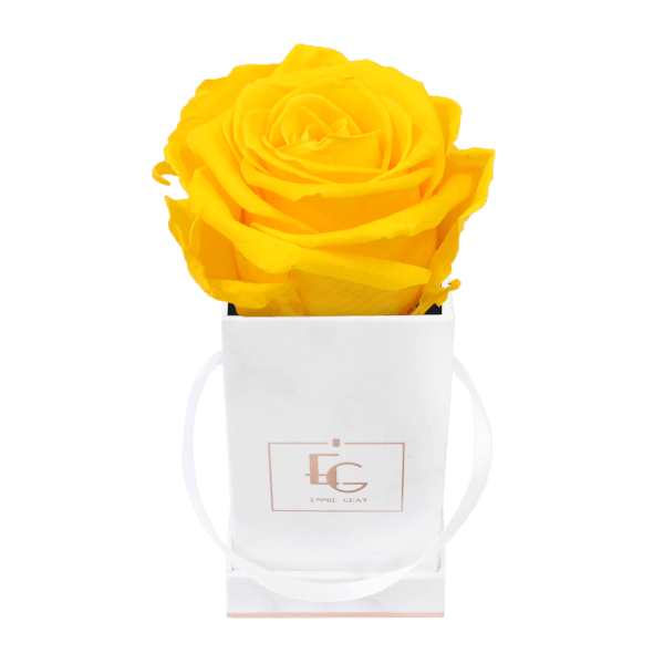 Classic Infinity Rosebox | Sunny Yellow | XXS