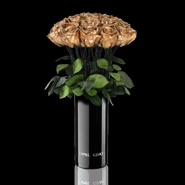 Classic Vase Set | Gold | 15 ROSES